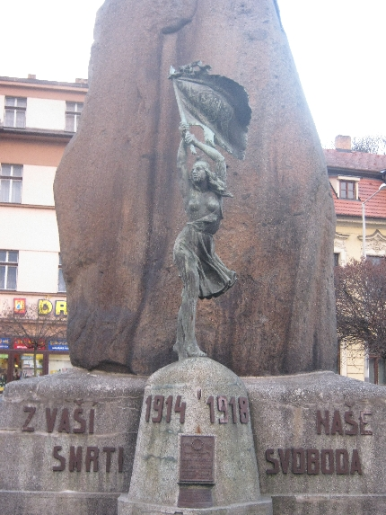 First World War memorial in Zbraslav © Ricky Yates