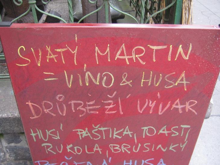 St Martin = wine & goose :-) © Ricky Yates